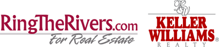 Logo: The Rivers Team and Keller Williams Realty