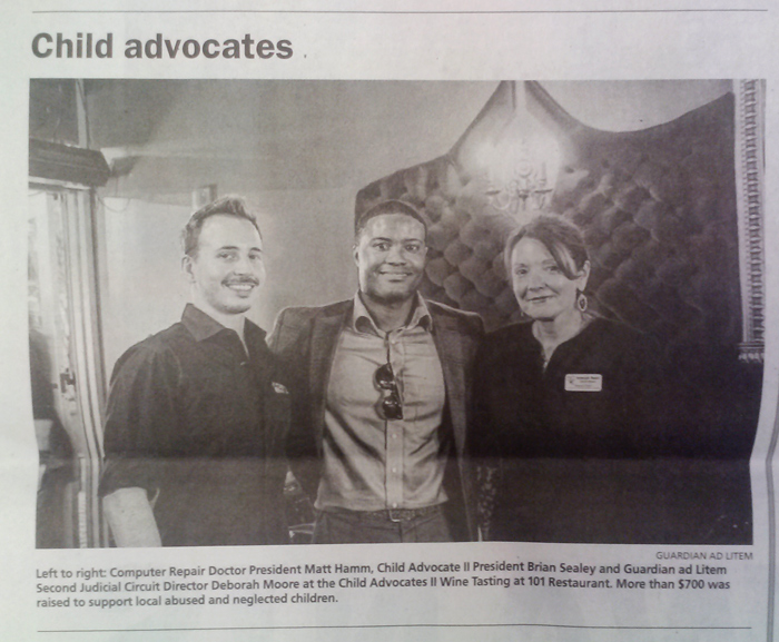 Photo of the aformentioned photograph published in the print newspaper