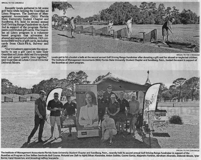 Scan of newspaper article