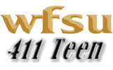 Logo: WFSU 411 Teen