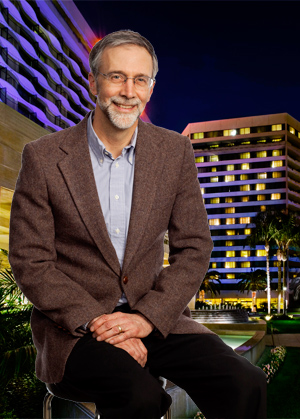 Original Photo Credit: National CASA/Marc Carter --- National CASA CEO Michael Piraino || Marriott/Frederick Charles --- Anaheim Marriott Hotel Exterior