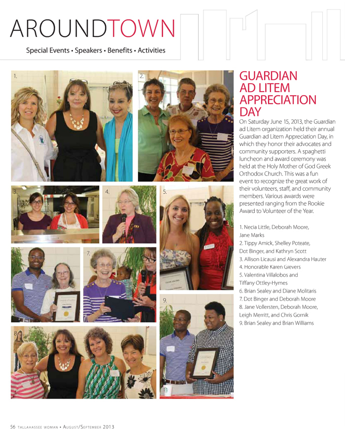 Page 56 of Tallahassee Woman mazagine, August/September 2013