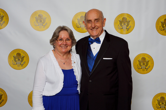 Original Photo Credit: Jefferson Awards for Public Service --- Volunteer guardian ad litem Janet 'Jan' Watford and her husband Jim at the Jefferson Awards for Public Service gala in Washington, D.C.
