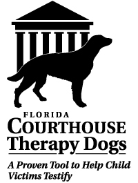 Florida Courthouse Therapy Dogs Logo