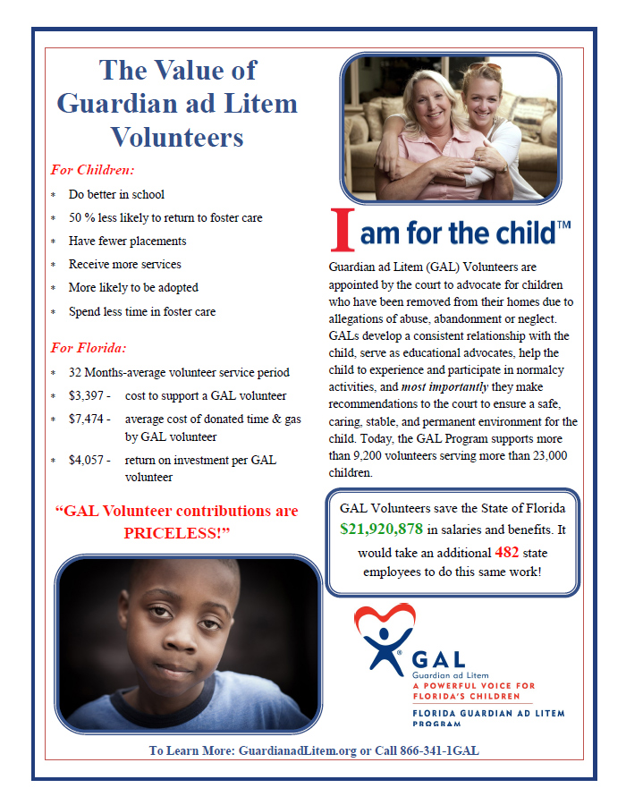 The Value of Guardian ad Litem Volunteers