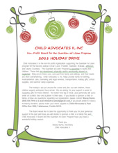 2011 Holiday Wish List Project - Letter to Public