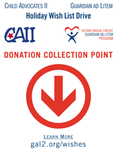 2013 Holiday Wish List Project - Poster for Collection Points