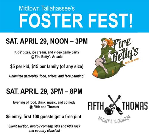 Foster Fest poster