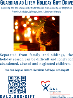 Holiday Gift Drive Print Flyer