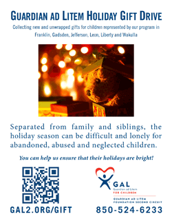 Holiday Drive Printable Flyer