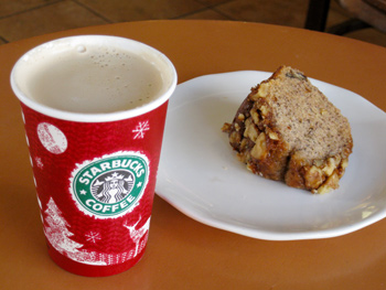 Original Photo Credit: Jack Kennard --- Coffee & Cake at Starbucks