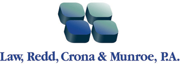 Logo: Law, Redd, Crona and Munroe, P.A.