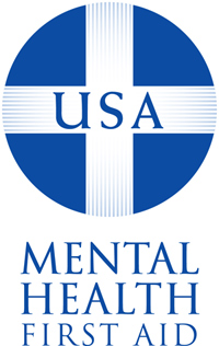 Logo: Mental Health First Aid USA