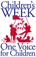 Logo: Children's Week (One Voice for Children)