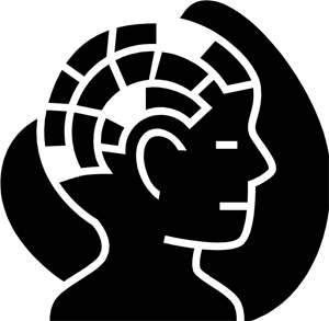 Clipart graphic of human brain