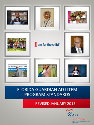 Guardian ad Litem Standards of Operations 2015 Cover