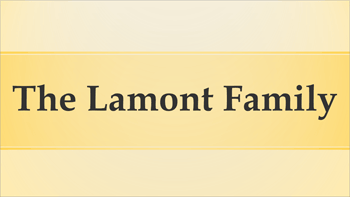 The Lamont Family