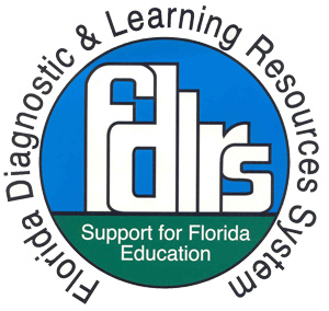 Florida Diagnostic and Learning Resources System Logo