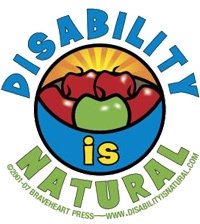 Disability Is Natural logo